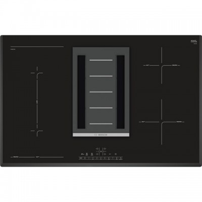 Save £247 at AO on Bosch Serie 6 PVS851F21E 80cm Venting Induction Hob - Black