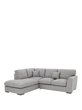 Save £360 at Very on Rio Fabric Left Hand Standard Back Corner Chaise Sofa