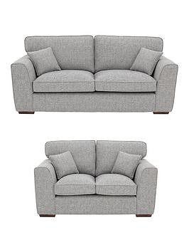 Save £352 at Very on Rio 3-Seater + 2-Seater Standard Back Fabric Sofa Set (Buy And Save!)