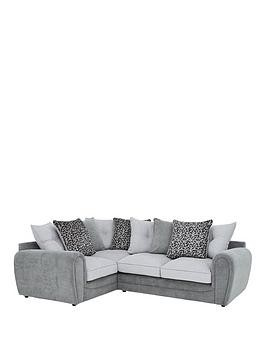 Save £300 at Very on Mosaic Fabric Left-Hand Double Arm Corner Group Sofa