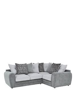Save £300 at Very on Mosaic Fabric Right-Hand Double Arm Corner Group Sofa
