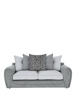 Save £180 at Very on Mosaic Fabric 3-Seater Sofa