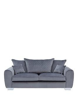 Save £200 at Very on Vibe Fabric 3 Seater Scatter Back Sofa