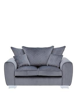 Save £190 at Very on Vibe Fabric 2 Seater Scatter Back Sofa