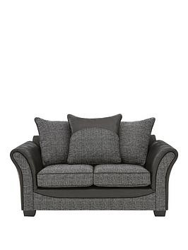 Save £176 at Very on Austin Fabric And Faux Snakeskin 2 Seater Scatter Back Sofa