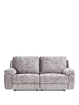 Save £180 at Very on Castille Fabric 3 Seater Manual Recliner Sofa