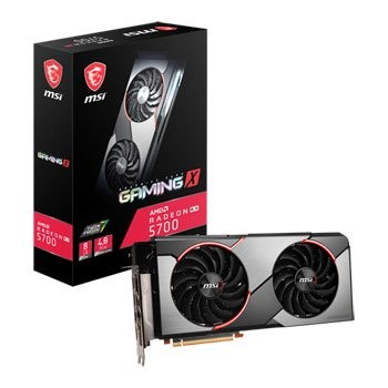 Save £41 at Scan on MSI AMD Radeon RX 5700 8GB GAMING X Graphics Card