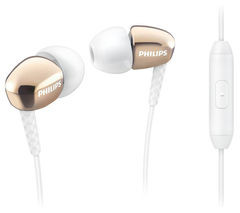 Save £5 at Currys on PHILIPS SHE3905 Headphones - Gold