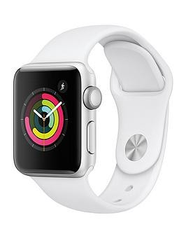 Save £80 at Very on Apple Watch Series 3 (2018 Gps), 38Mm Silver Aluminium Case With White Sport Band