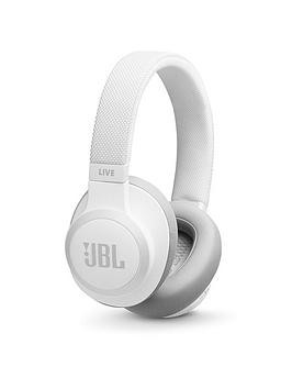 Save £19 at Very on Jbl Live 650 Wireless Bluetooth Noise-Cancelling Headphones - White
