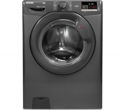 Save £50 at Currys on HOOVER DHL 14102D3R Smart 10 kg 1400 Spin Washing Machine - Graphite, Graphite