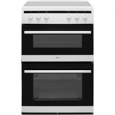 Save £39 at AO on Amica AFC6520WH 60cm Electric Cooker with Ceramic Hob - White - A/A Rated
