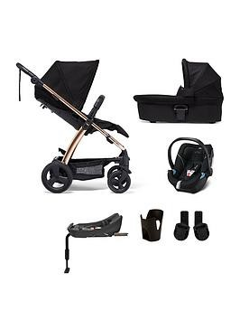 Save £100 at Very on Mamas & Papas Sola2 Rose Gold 6-Piece Bundle (Pushchair, Carry Cot, Car Seat, Isofix Base, Adaptor And Cupholder)