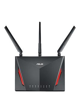Save £20 at Very on Asus Rt-Ac86U Ac2900 Ai Mesh Gigabit Wireless Router