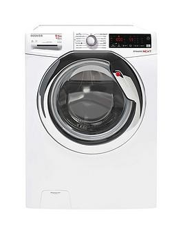 Save £50 at Very on Hoover Wdxoa496Ahw 9Kg Wash, 6Kg Dry, 1400Rpm Spin Washer Dryer - White/Chrome