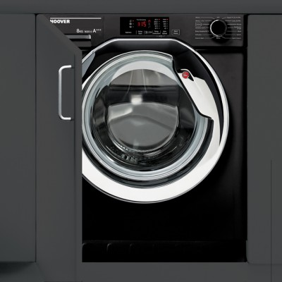 Save £50 at AO on Hoover HBWM816DCB/1 Integrated 8Kg Washing Machine with 1600 rpm - A+++ Rated