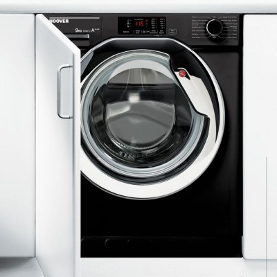 Save £70 at AO on Hoover HBWM914DCB/1 Integrated 9Kg Washing Machine with 1400 rpm - A+++ Rated