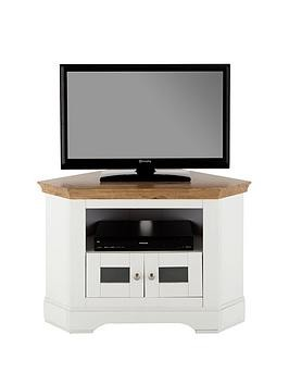 Save £14 at Very on Ideal Home Wiltshire Corner Tv Unit - Fits Up To 40 Inch Tv