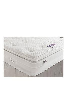 Save £58 at Very on Silentnight Jasmine 2000 Geltex Pillowtop Mattress - Medium/Soft