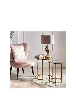Save £10 at Very on Michelle Keegan Home Aruba Nest Of Lamp Tables