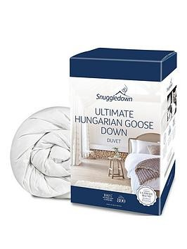 Save £13 at Very on Snuggledown Of Norway Hungarian Goose Down 10.5 Tog Duvet