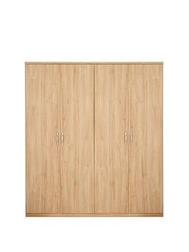 Save £25 at Very on Peru 4 Door Wardrobe