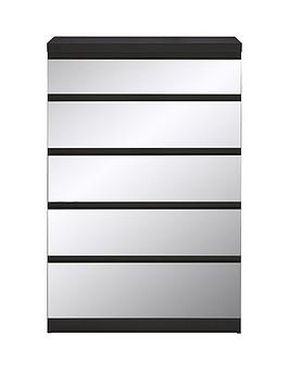 Save £15 at Very on Prague Mirror 5 Drawer Chest