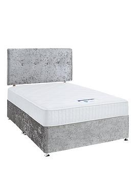 Save £52 at Very on Luxe Collection By Silentnight Francesca 1000 Memory Foam Divan Bed With Storage Options (Includes Headboard!)