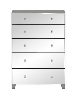 Save £20 at Very on New Bellagio 5 Drawer Chest
