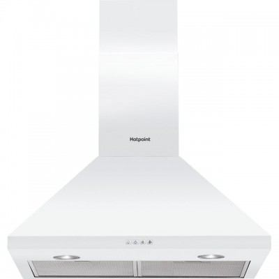 Save £20 at AO on Hotpoint PHPC6.5FLMX 60 cm Chimney Cooker Hood - White - D Rated