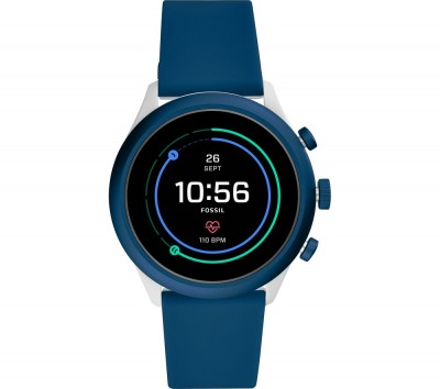 Save £16 at Currys on Sport FTW4036 Smartwatch - Navy Blue, 43 mm, Navy