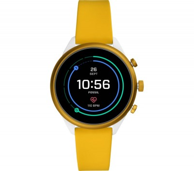 Save £16 at Currys on Sport FTW6053 Smartwatch - Yellow, 41 mm, Yellow