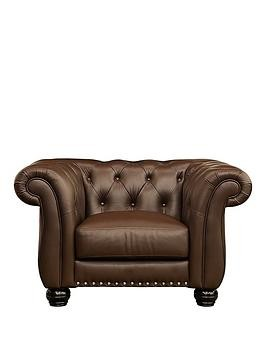 Save £74 at Very on Bakerfield Leather Armchair