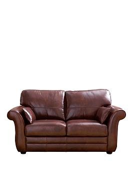 Save £266 at Very on Vantage Italian Leather 2 Seater Sofa