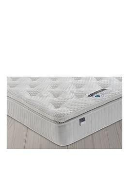 Save £120 at Very on Silentnight Mia 1000 Geltex Pillowtop Mattress - Medium - Mattress Only