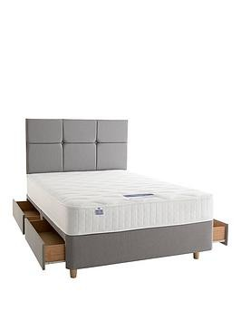 Save £170 at Very on Silentnight Mirapocket Sophia 1000 Memory Divan Bed With Storage Options (Includes Headboard!)