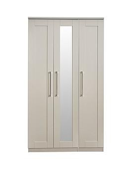Save £60 at Very on Swift Larson Ready Assembled 3 Door Mirrored Wardrobe