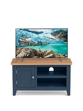 Save £20 at Very on Julian Bowen Richmond Ready Assembled Tv Unit - Fits Up To 38 Inch Tv - Midnight Blue