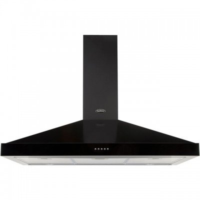 Save £120 at AO on Belling FARMHOUSE 90 CHIM 90 cm Chimney Cooker Hood - Black - D Rated