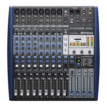 Save £84 at Scan on Presonus StudioLive AR12c Interface, Mixer, Recorder