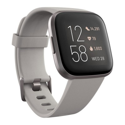 Save £51 at Ebuyer on Fitbit Versa 2 Smart Watch Activity Tracker Stone