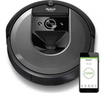 Save £200 at Currys on Roomba I7158 Robot Vacuum Cleaner - Black, Black