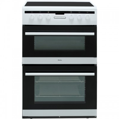Save £40 at AO on Amica AFC6550WH 60cm Electric Cooker with Ceramic Hob - White - A/A Rated