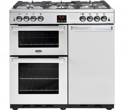 Save £114 at Currys on BELLING Gourmet 90G Professional Gas Range Cooker - Stainless Steel, Stainless Steel