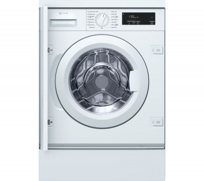 Save £120 at Currys on NEFF W543BX0GB Integrated 8 kg 1400 Spin Washing Machine - White, White