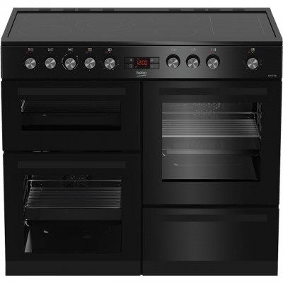 Save £80 at AO on Beko KDVC100K 100cm Electric Range Cooker with Ceramic Hob - Black - A/A Rated
