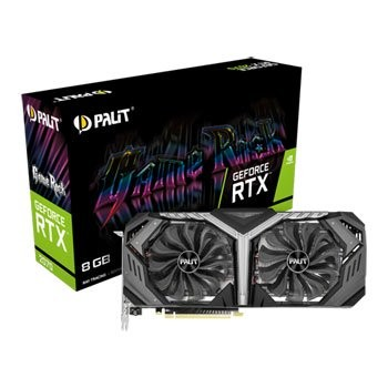 Save £128 at Scan on Palit NVIDIA GeForce RTX 2070 8GB GameRock Turing Graphics Card