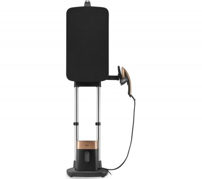 Save £100 at Currys on IXEO QT1020 All-in-One Upright Garment Steamer - Black & Copper, Black
