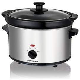 Save £5 at Argos on Morphy Richards 2.5L Slow Cooker - Stainless Steel