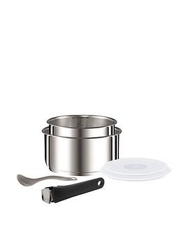 Save £27 at Very on Tefal Ingenio 6-Piece Saucepan Set - Stainless Steel